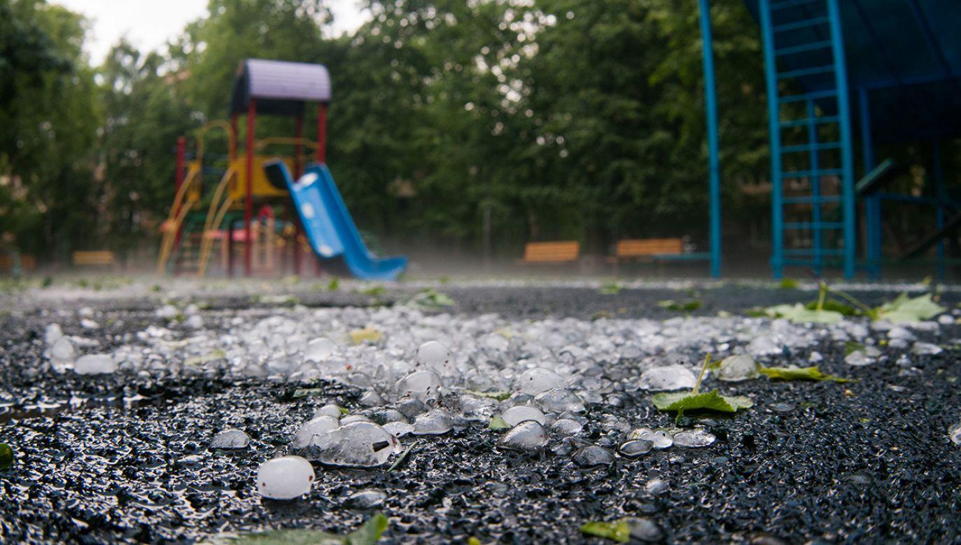 W czasie burz może spaść od 20 do 30 mm deszczu (fot. Shutterstock/Paparacy)