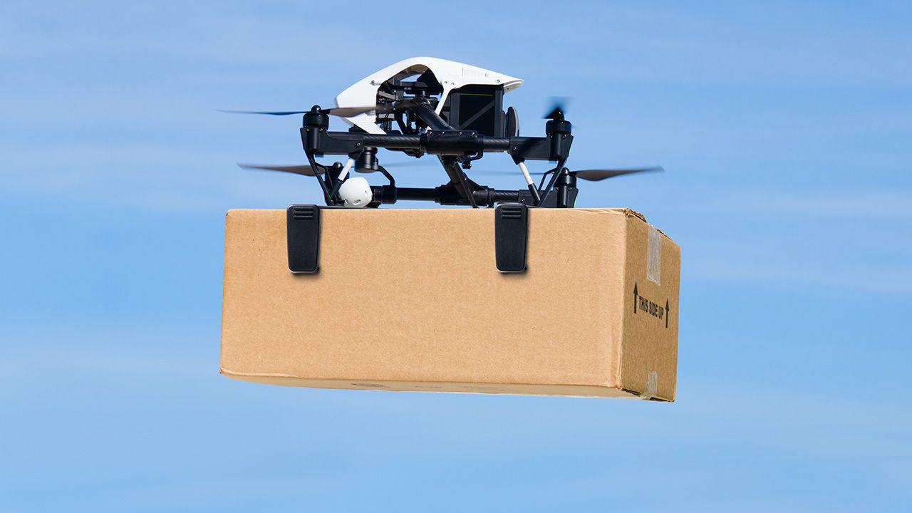 Drony mogą unieść ciężar do 5 kilogramów, wznieść się na wysokość ok. 70 metrów, a ich zasięg wynosi 3,5 kilometra (fot. Shutterstock/ Mike Focus)