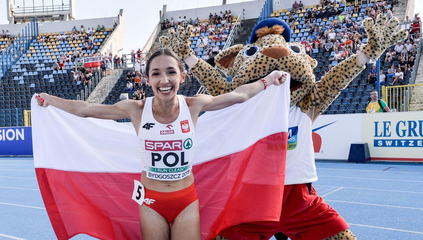Sofia Ennaoui zwyciężyła w niedzielę bieg na 800 m (fot. PAP/Paweł Skraba)