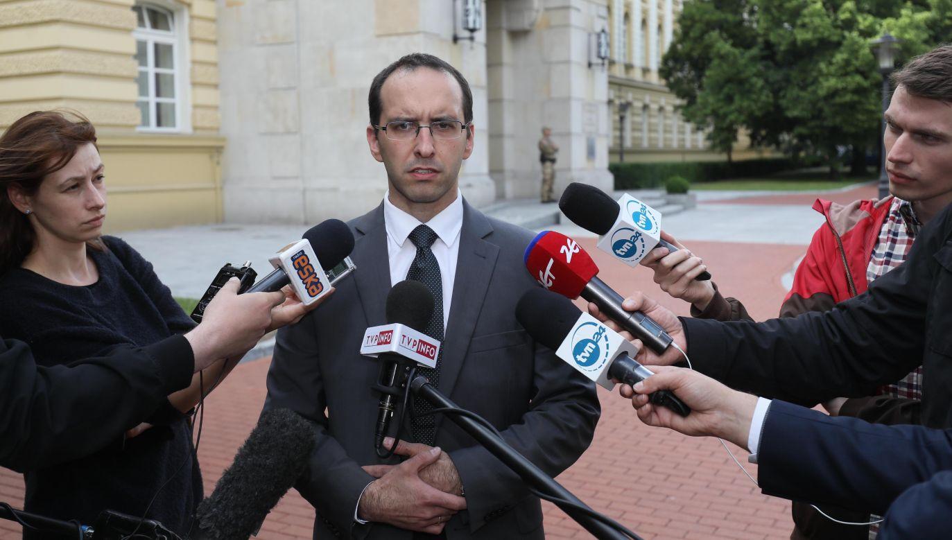 Rzecznik prasowy koordynatora służb specjalnych Stanisław Żaryn (fot. PAP/Paweł Supernak)