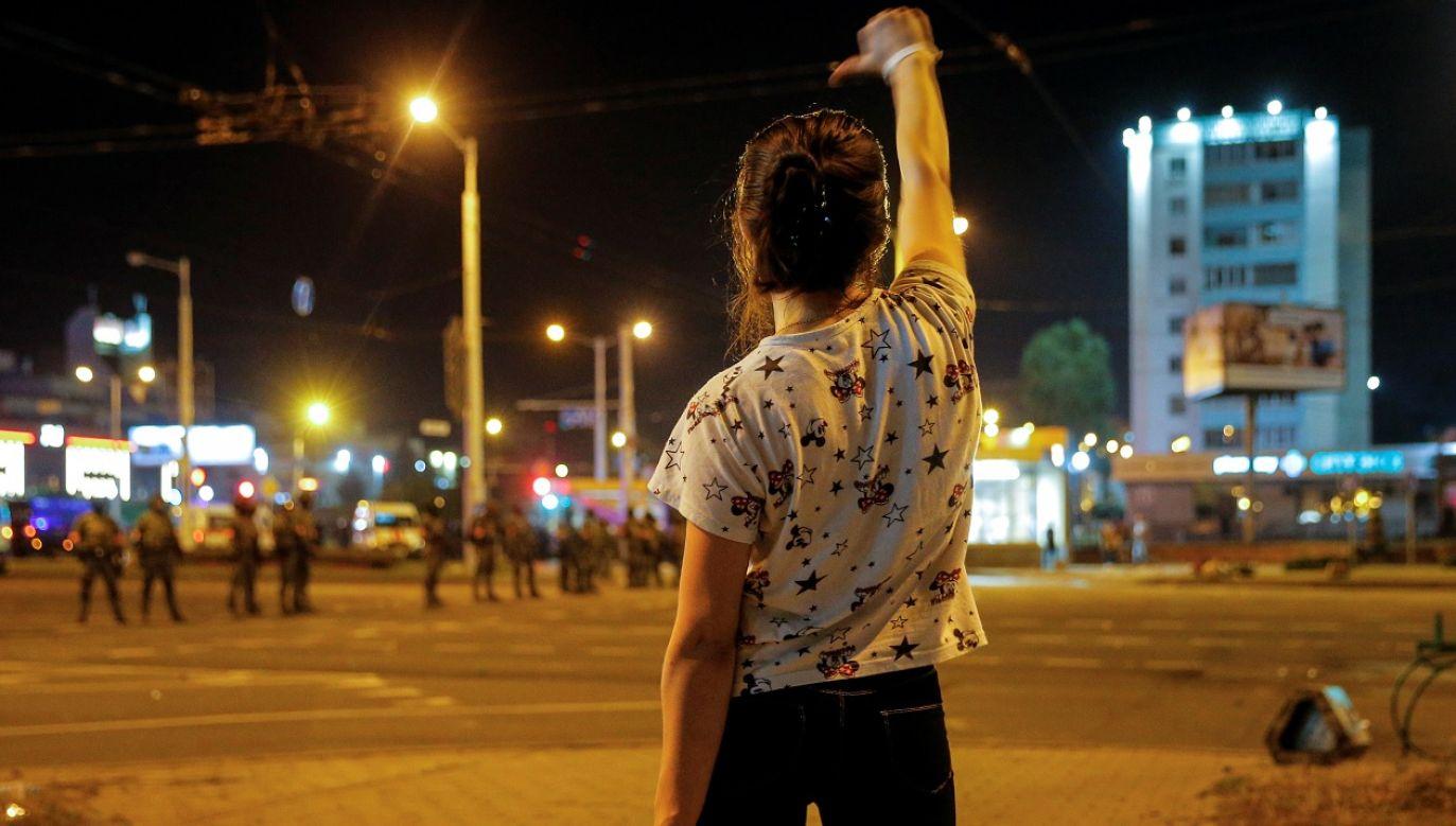 """""""Zatrzymano tysiące ludzi i nasiliły się represje wobec wolności zgromadzeń"""" – głosi oświadczenie (fot. Reuters/Vasily Fedosenko)"""