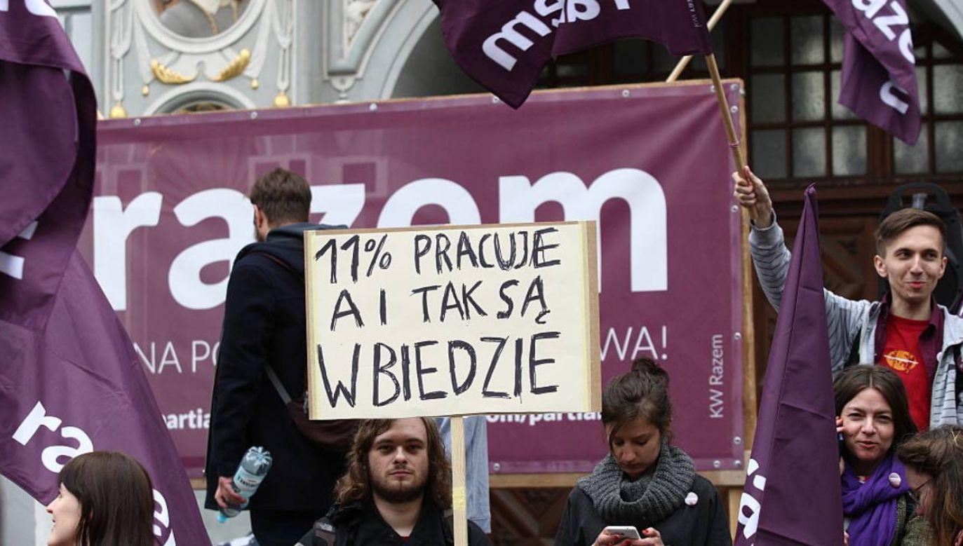 Potężne zarobki polityków Razem (fot.Michal Fludra/Gallo Images Poland/Getty Images))