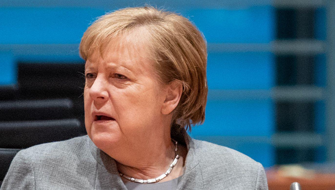 Według niektórych europosłów porozumienie ws. weta budżetu UE z prezydencją niemiecką będzie trudne, a nawet niemożliwe (fot. Andreas Gora - Pool via Getty Images)