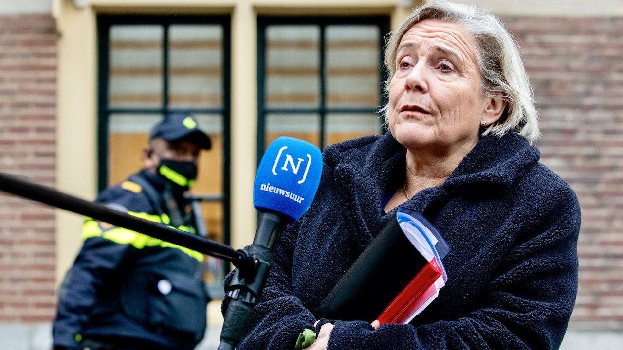 O swoim odejściu poinformowała kierująca resortem obrony Ank Bijleveld-Schouten (fot. N.Wenstedt/BSR Agency/Getty Images)