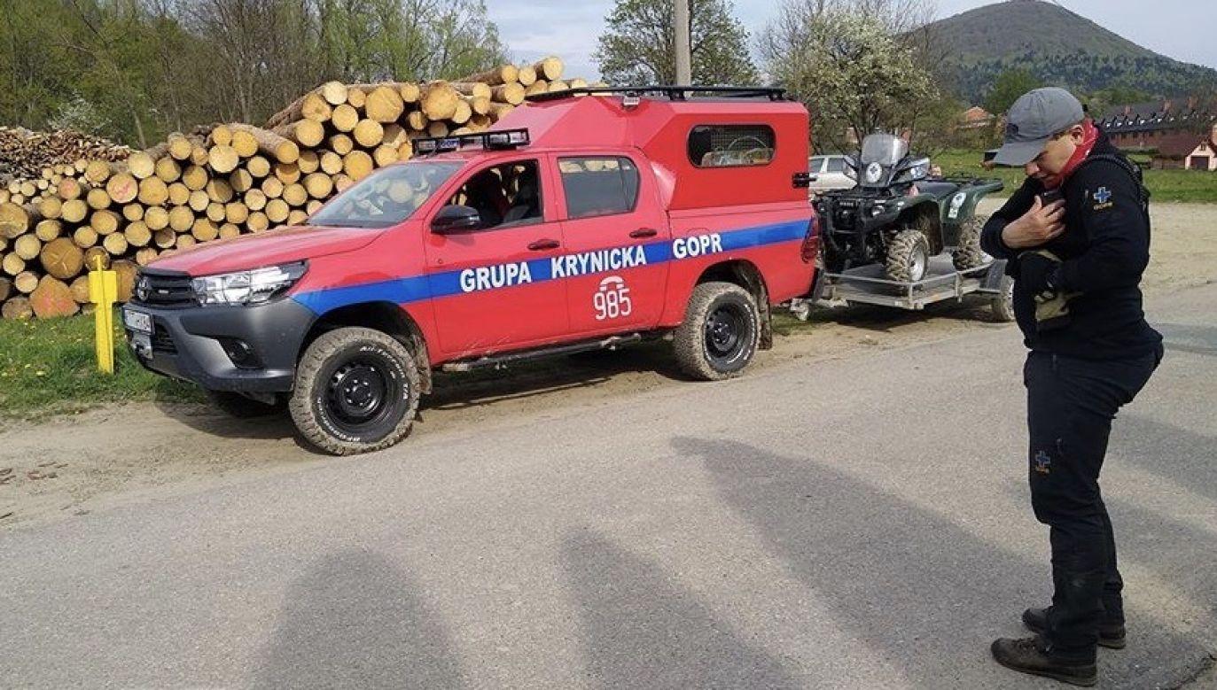 Według ratownika w poprzednich samochodach z których korzystali było znacznie mniej miejsca (fot. GOPR)