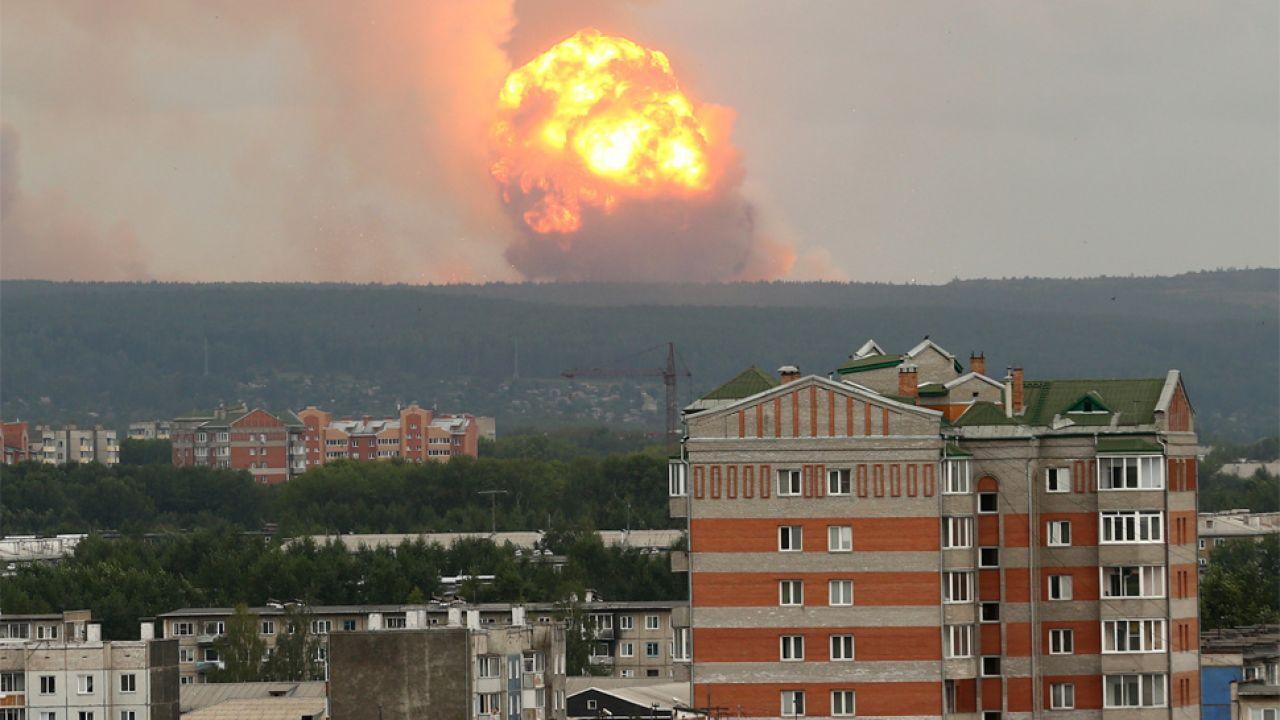 Rosja zapewnia, że nie doszło do skażenia radioaktywnego (fot. PAP/EPA/DMITRY DUB)