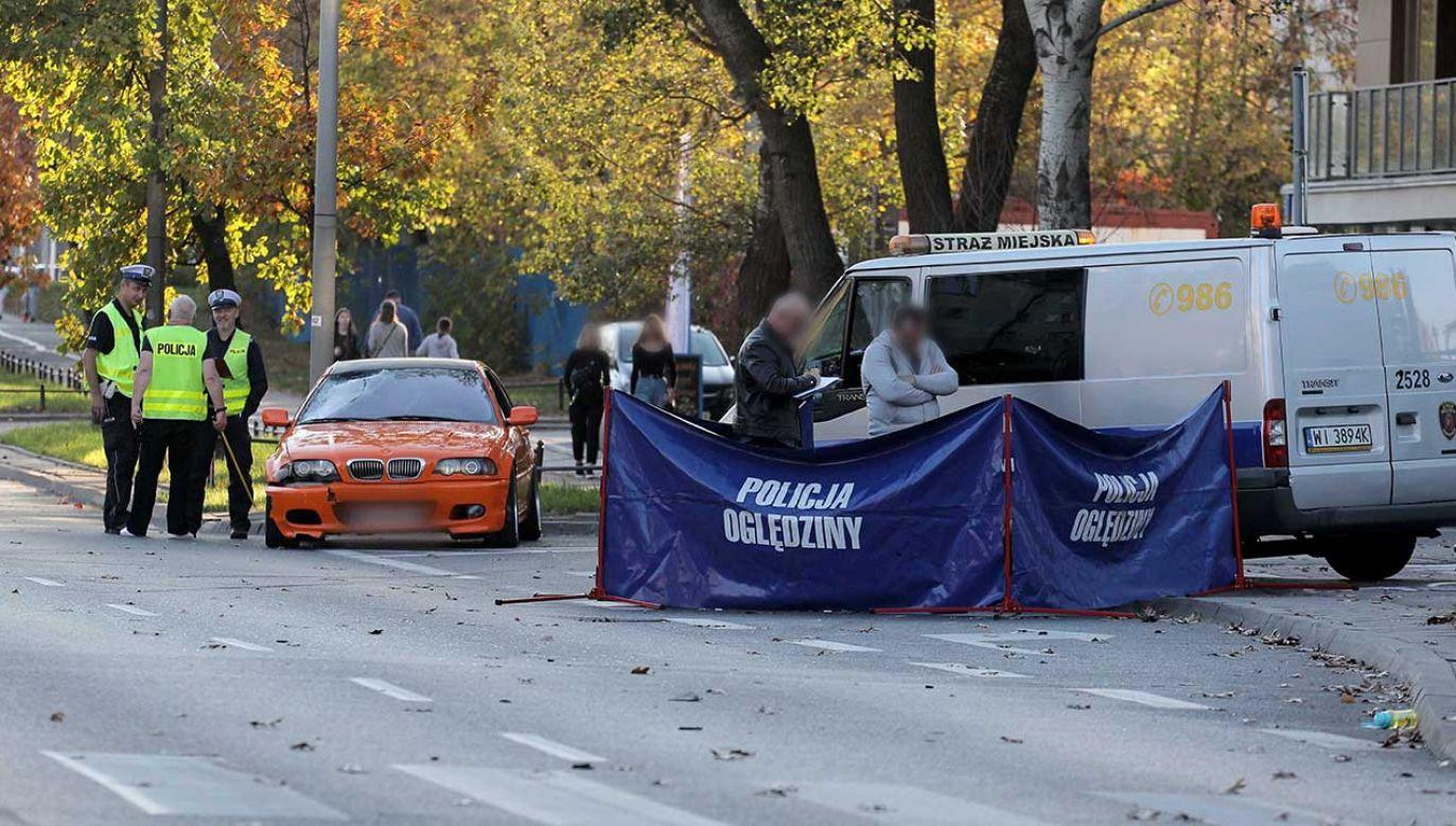 Z ustaleń śledczych wynika, że kierowca pojazdu był trzeźwy (fot. arch. PAP/Paweł Supernak)