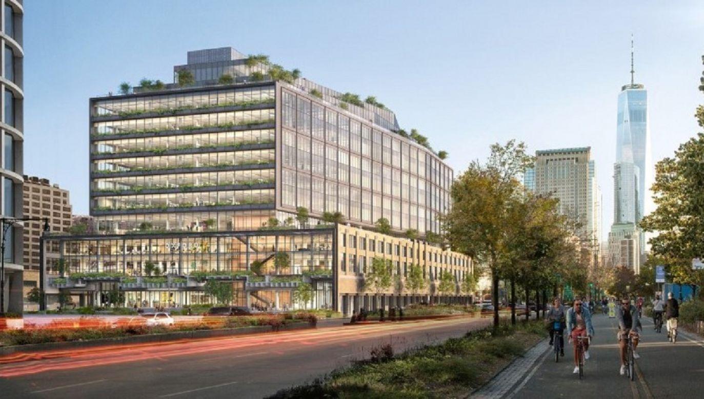 Google na razie dzierżawi nieruchomość o powierzchni ponad 390 tys. m kw.  (fot. COOKFOX architects)