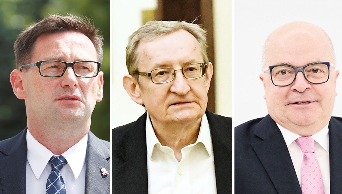 Poseł Tomasz Zimoch złożył rezygnację z członkostwa w klubie Koalicji Obywatelskiej (fot.REUTERS/Ints Kalnins; PAP/Maciej Kulczyński; Leszek Szymański)
