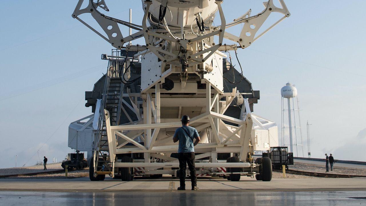 DARPA chce do 2025 roku zaprezentować pojazd z nuklearnym napędem termicznym (fot. PAP/EPA/A.GEMIGNANI/NASA/HANDOUT, zdjęcie ilustracyjne)