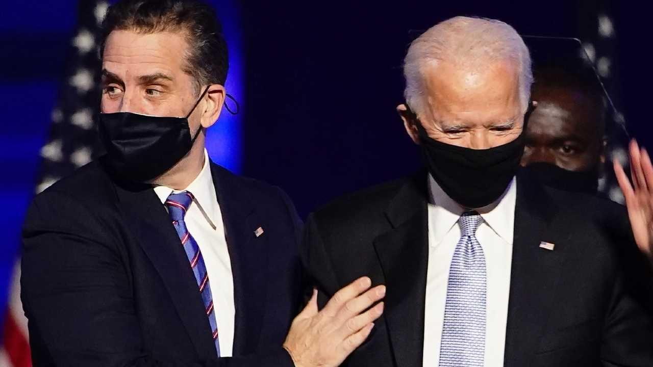 Hunter Biden jest synem prezydenta-elekta Joe Bidena (fot. PAP/EPA/JIM LO SCALZO)