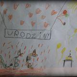 Rysunek Amelii Marii Dziąbkowskiej, 7 lat