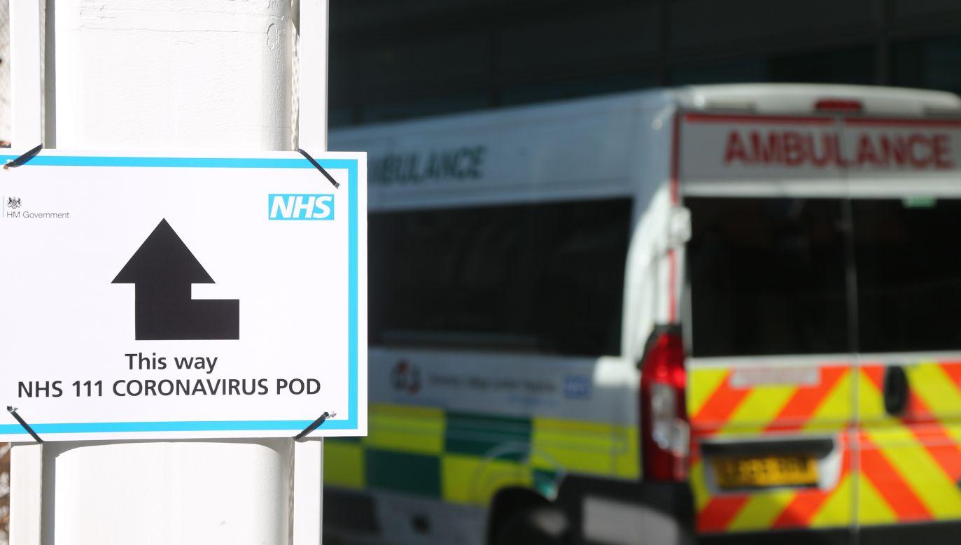 Z powodu epidemii koronawirusa kliniki położnicze w Wielkiej Brytanii oraz placówki dokonujące aborcji ograniczają działalność (zdjęcie ilustracyjne) (fot. Ilyas Tayfun Salci/Anadolu Agency via Getty Images)