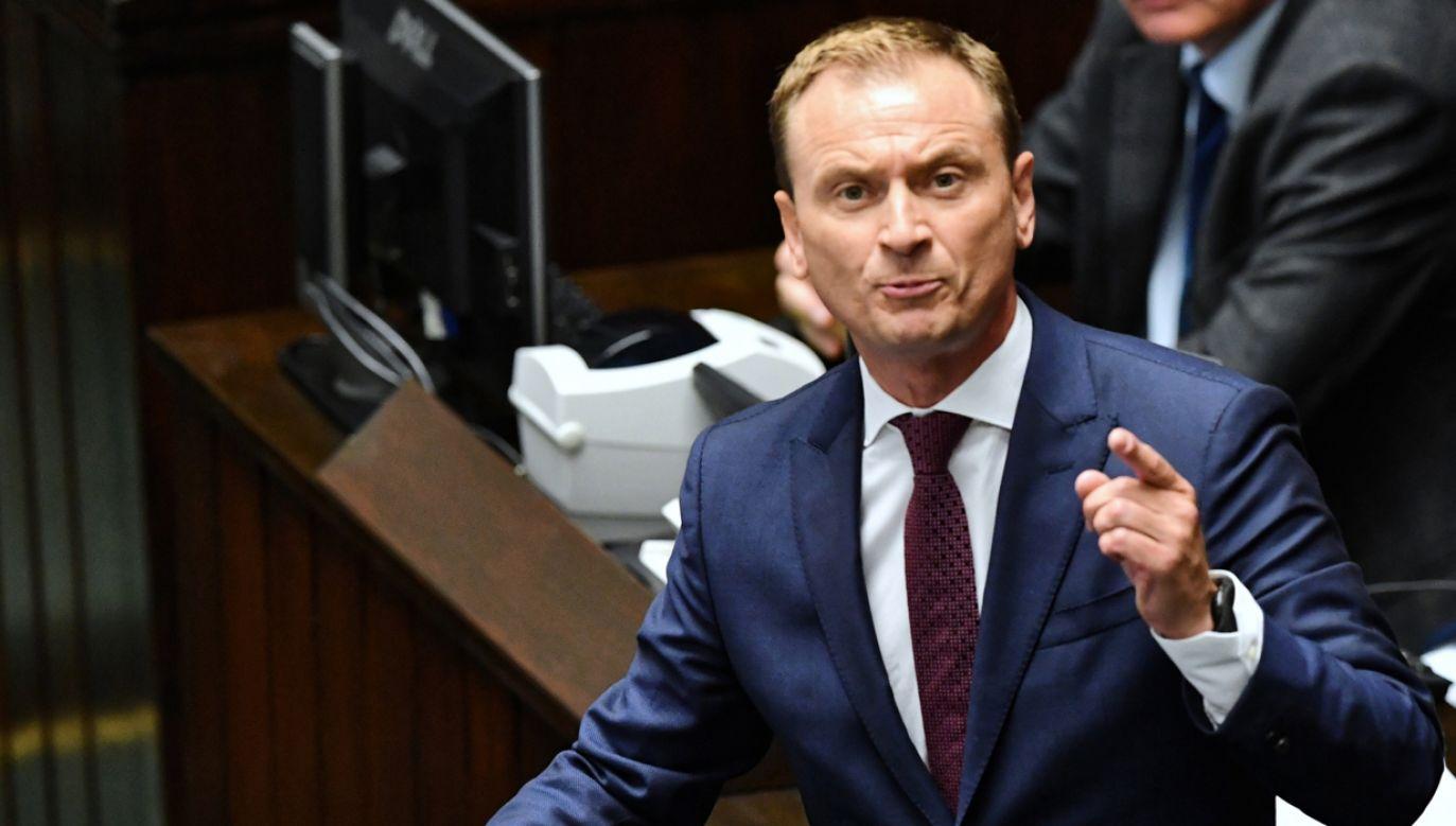 Padłem ofiarą manipulowania partyjnymi listami, dopisywania ludzi – przyznaje Nitras (fot. PAP/Piotr Nowak)