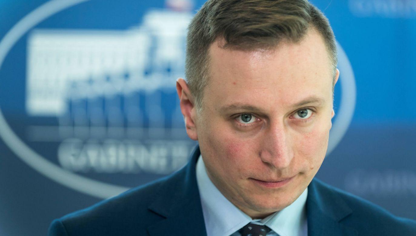Krzysztof Brejza jest szefem sztabu wyborczego Koalicji Obywatelskiej (fot. arch.PAP/Tytus Żmijewski)
