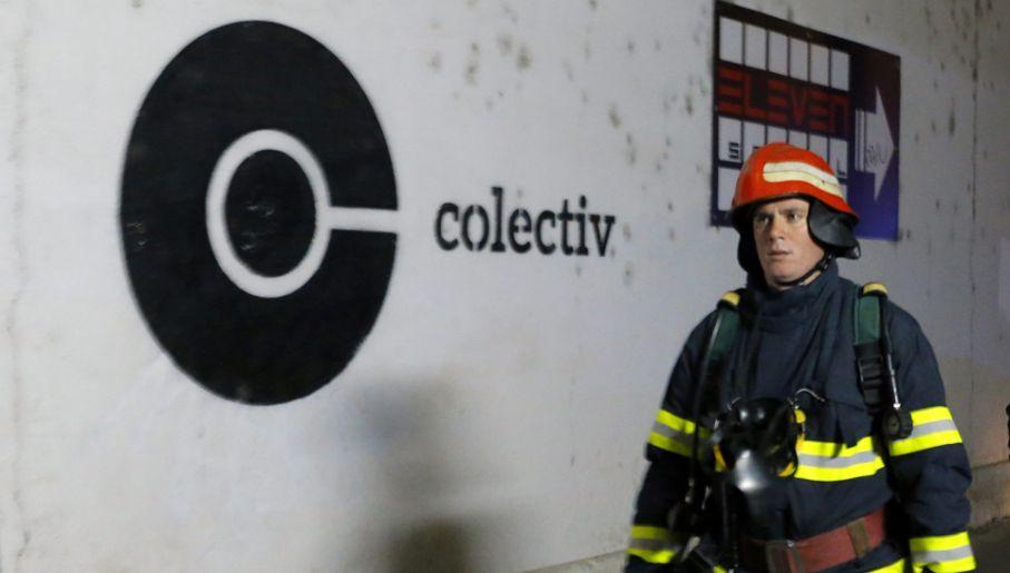 W klubie Colectiv znajdowało się ok. 400 osób (fot. PAP/EPA/ROBERT GHEMENT)