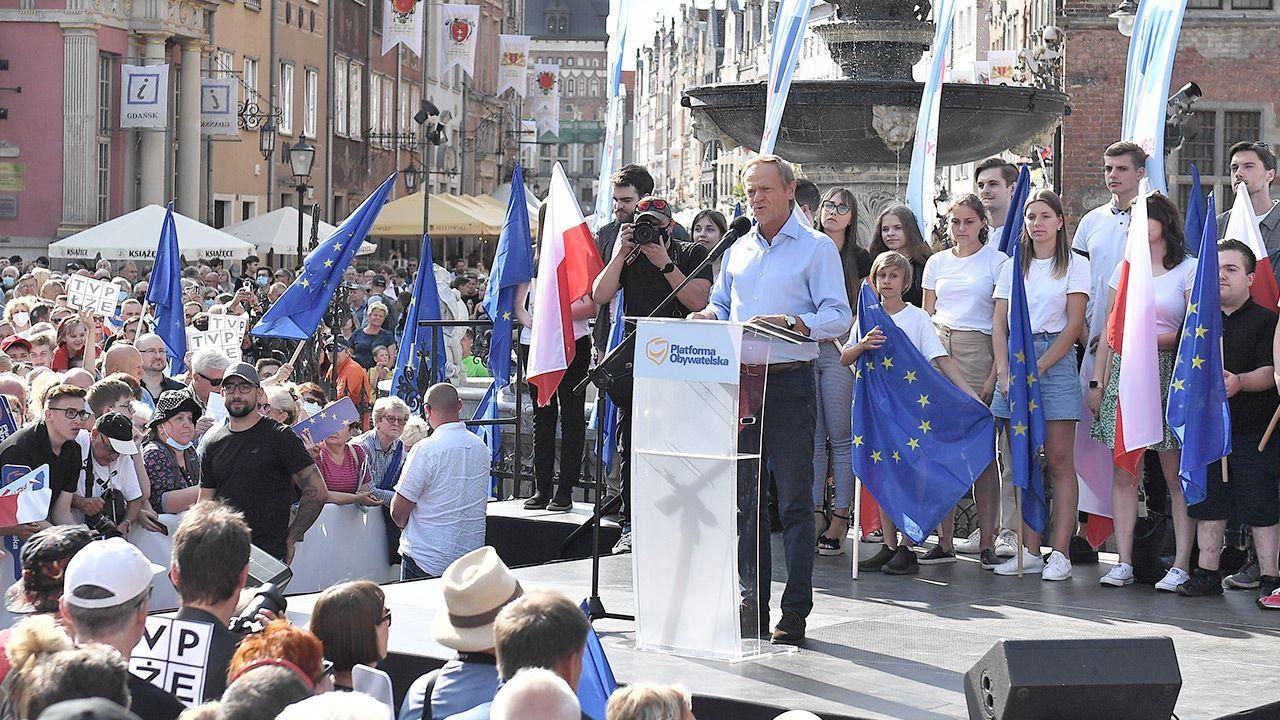 """""""Platforma wskazuje człowieka i nie ma dyskusji, czy on jest dobry, czy nie"""" (fot. PAP/Marcin Gadomski)"""