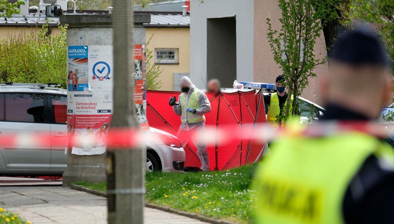 Zastrzelono policjanta podczas kontroli samochodu (fot. PAP/Andrzej Grygiel)