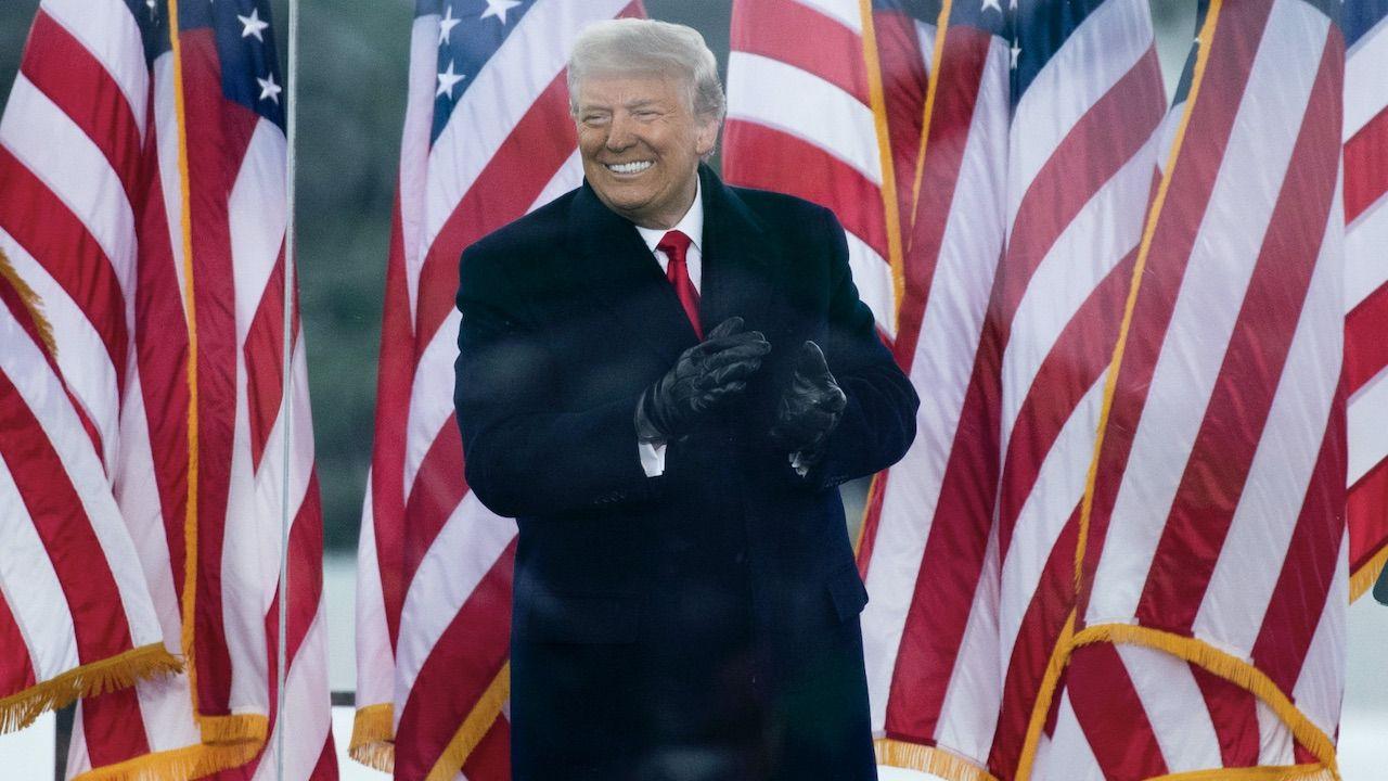 Donald Trump (fot. PAP/EPA/MICHAEL REYNOLDS)