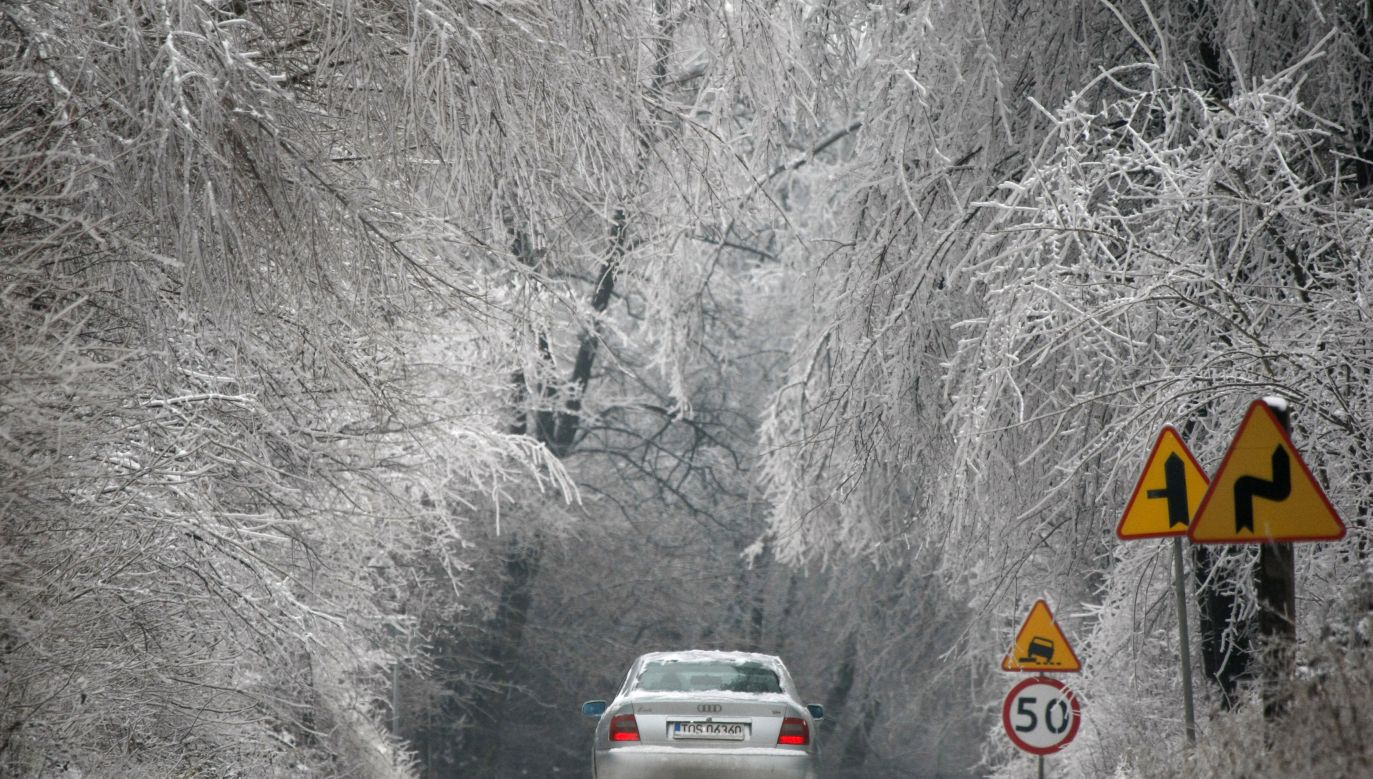 Ostrzeżenia pierwszego stopnia przed intensywnymi opadami śniegu (fot. Reuters)