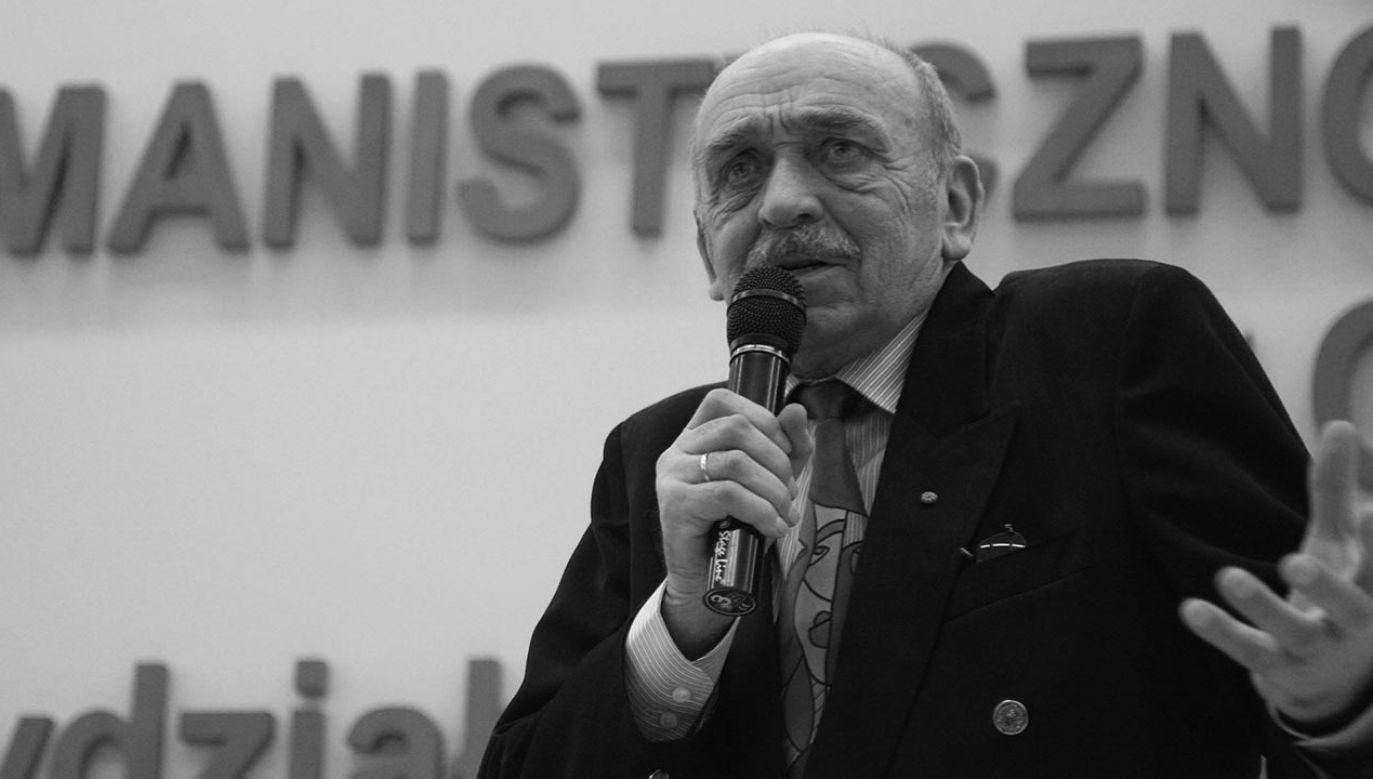 Po internowaniu aktor związał się ze środowiskiem niezależnych artystów (fot. PAP/Tomasz Wojtasik)