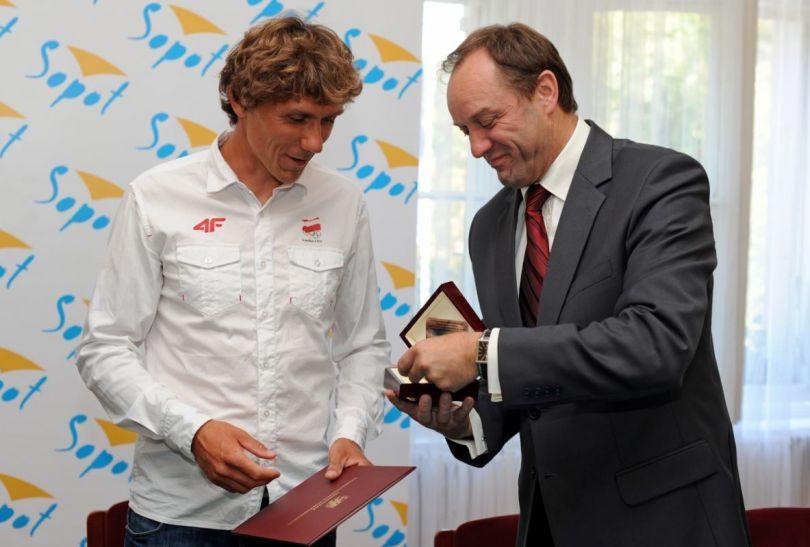 Przemysław Miarczyński zdobył w Londynie brązowy medal (fot. PAP/Piotr Wittman)