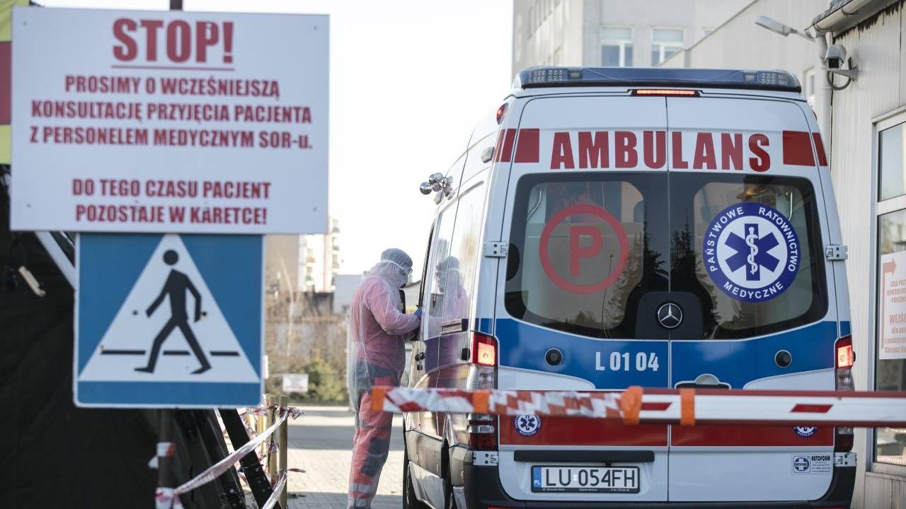 Kolejna fala epidemii w kraju (fot. Forum/Jacek Szydlowski)
