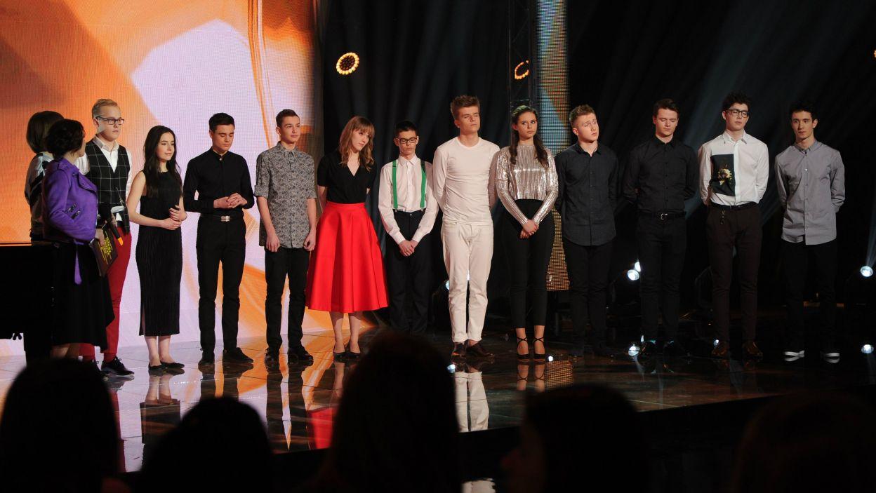 12 utalentowanych i młodych muzyków zawalczyło o finał Młodego Muzyka Roku (fot. N. Młudzik/TVP)