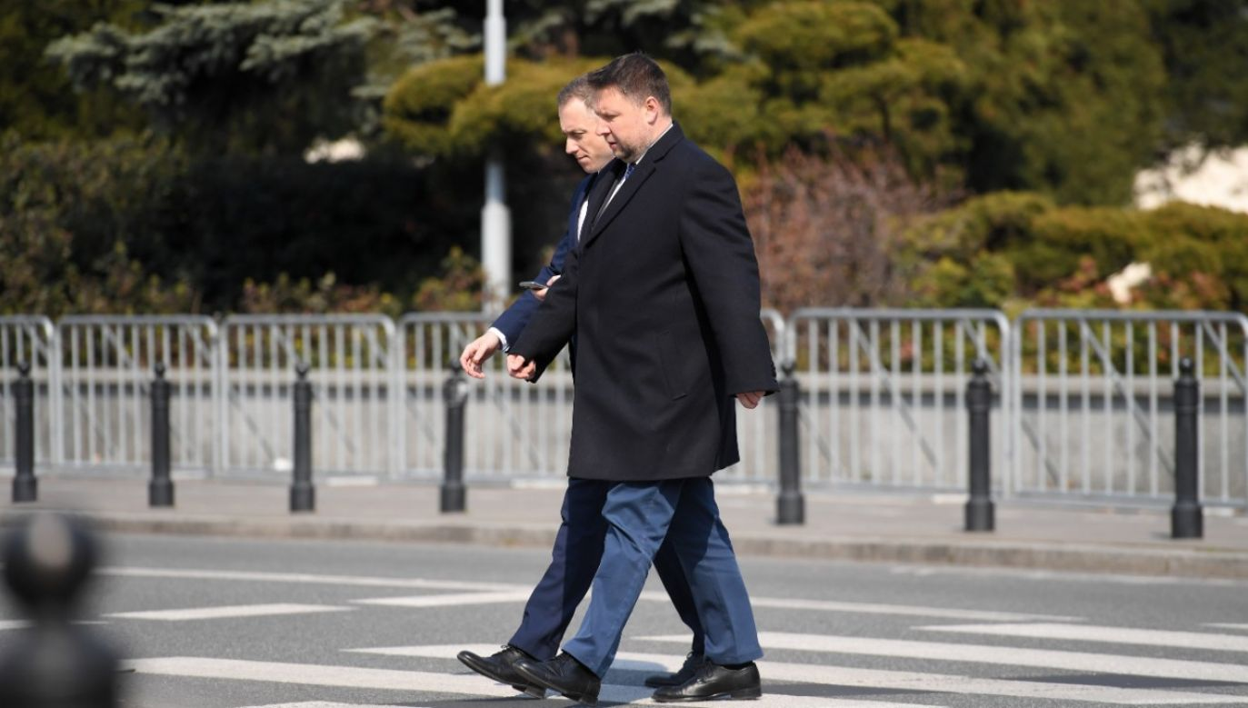 Kierwiński zaprzecza powiązaniom z profilem (fot.PAP/Piotr Nowak)