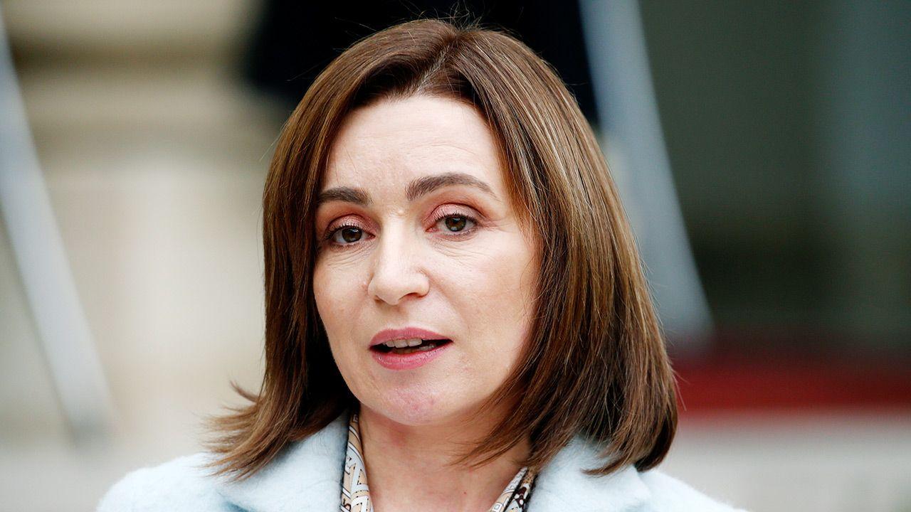 Prezydent Mołdawii Maia Sandu jest już o krok od osiągnięcia celu (fot. Chesnot/Getty Images)
