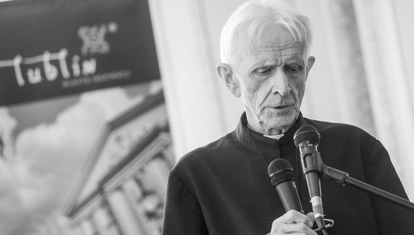 O śmierci  o. Huberta Czumy poinformowała Kuria Biskupia w Radomiu (fot. arch.PAP/Tomasz Koryszko)