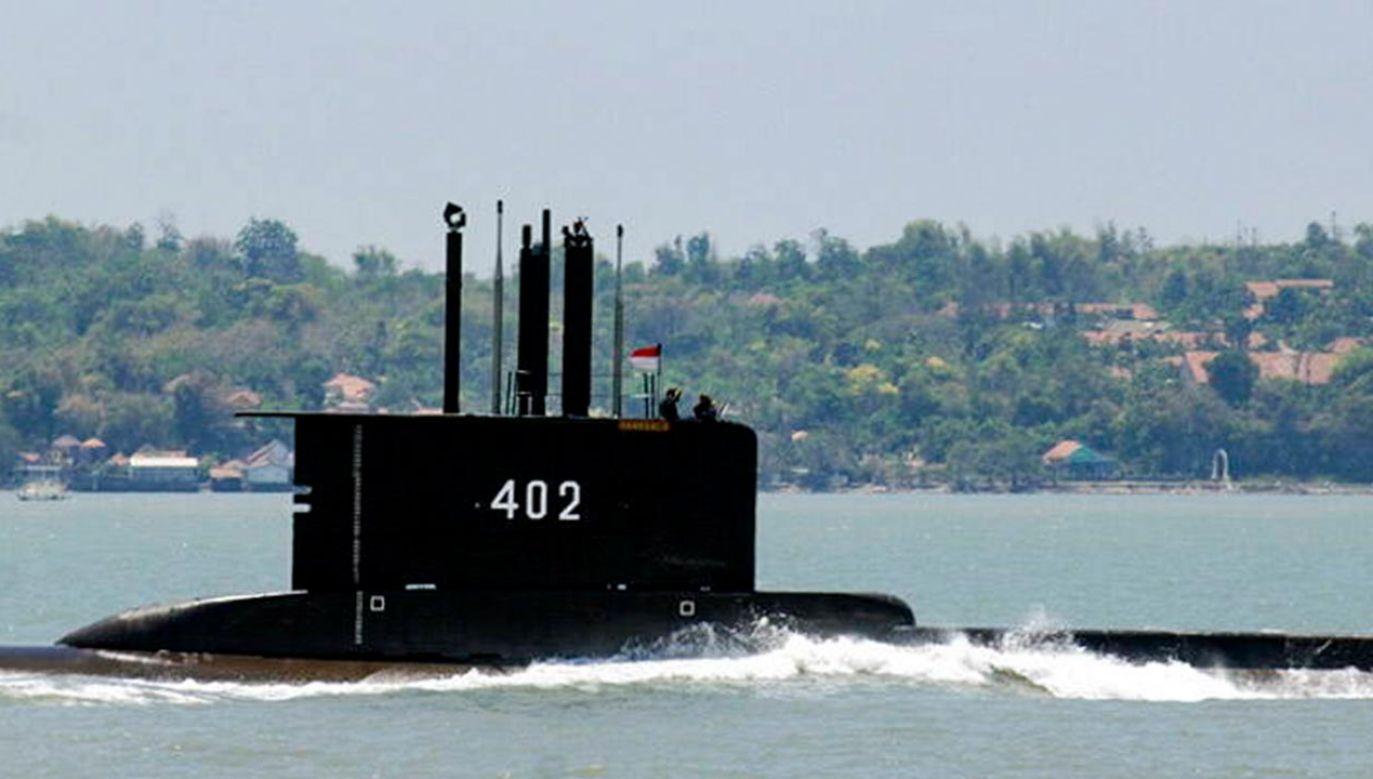 Poszukiwania 53 członków załogi zaginionego okrętu podwodnego (fot. PAP/EPA/INDONESIAN NAVY / HANDOUT)