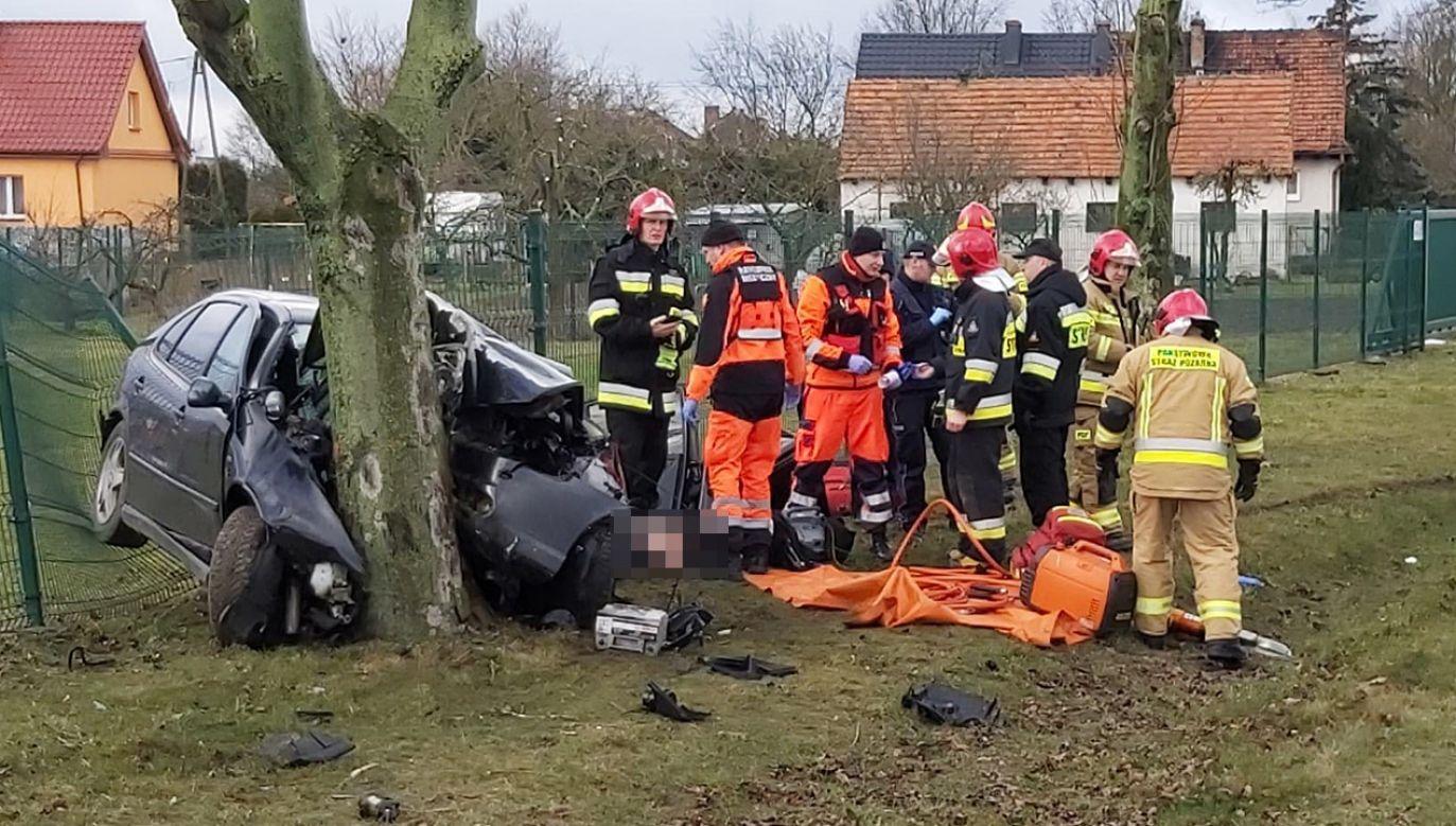 Informację o wypadku otrzymaliśmy na adres twoje@tvp.info (fot. Zbigniew Kubisz)
