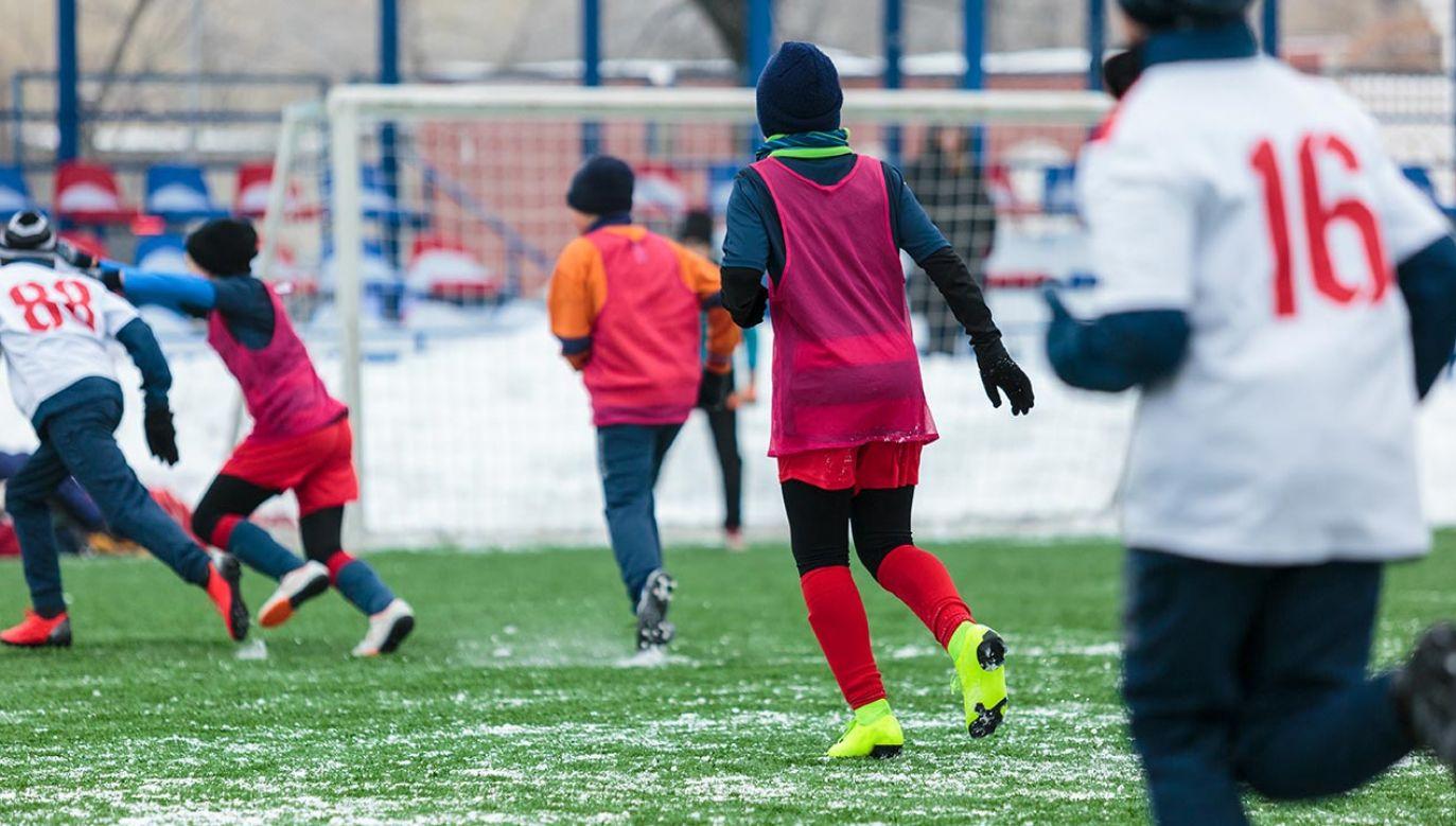 Sport ma zmniejszyć problem otyłości wśród najmłodszych (fot. Shutterstock/Chekyravaa)