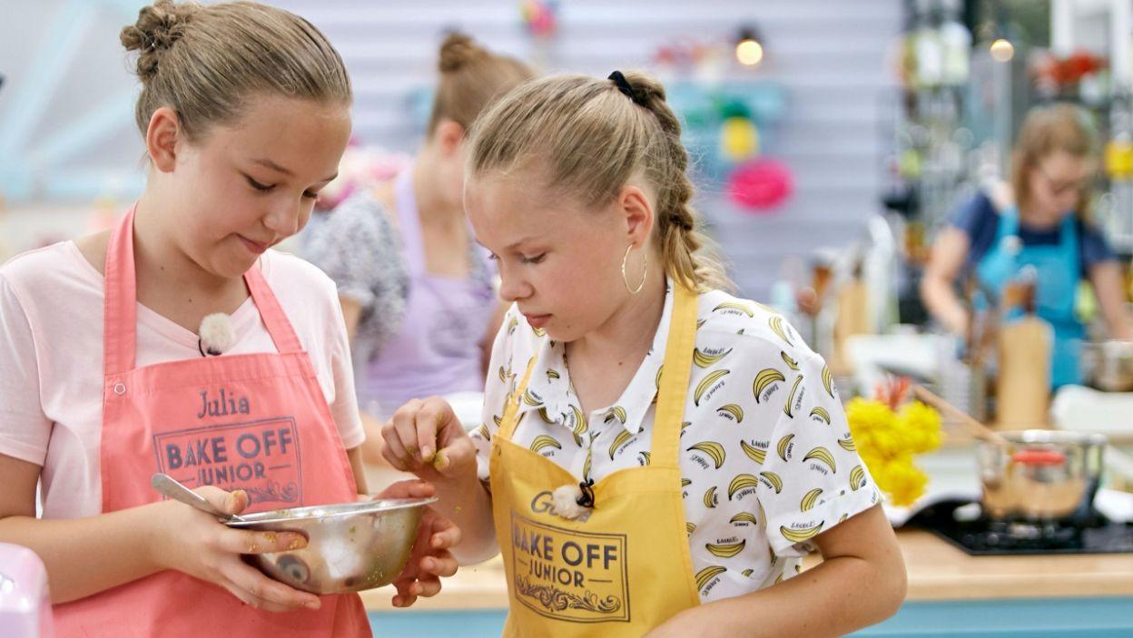 Młodzi cukiernicy przygotowali aktorowi specjalny deser (fot. TVP)