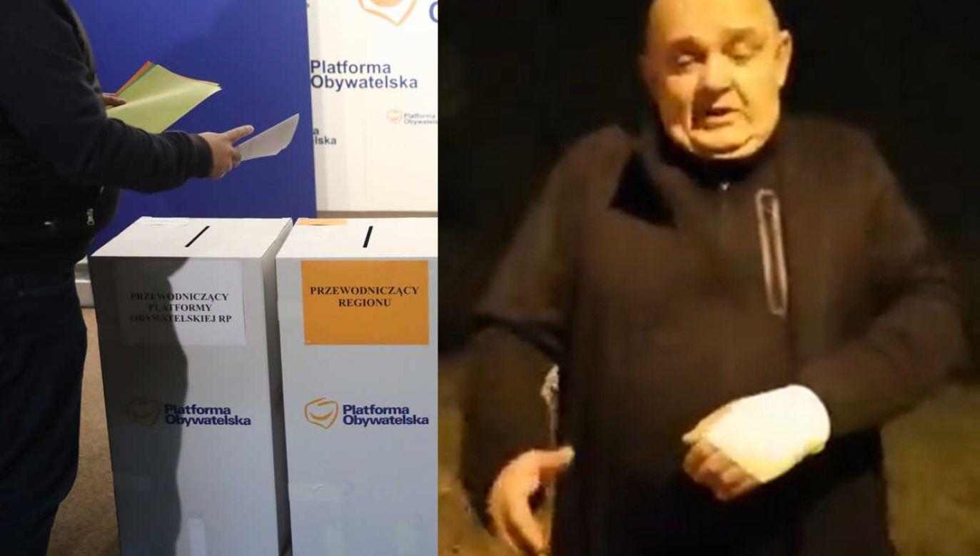 W wyborach do władz regionów PO przegrali kandydaci Donalda Tuska (fot. PAP/Tomasz Gzell, screen twitter.com/JerzyOstrowski5)