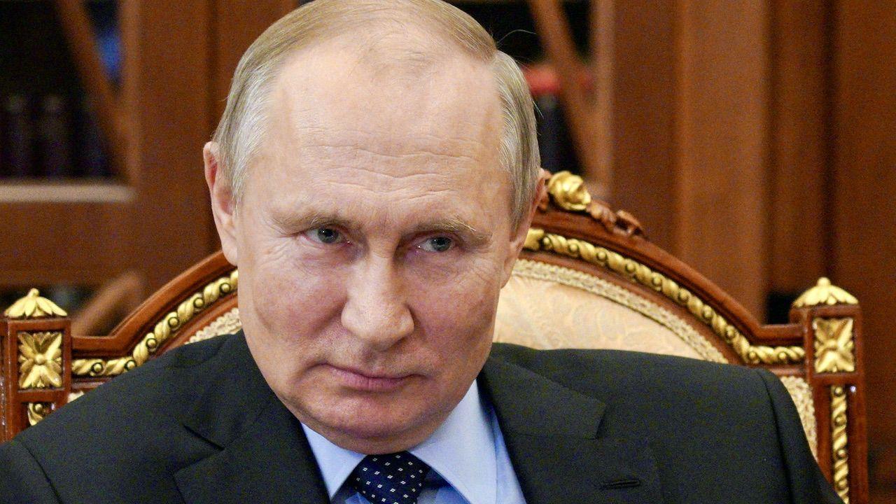 Prezydent Rosji Władimir Putin (fot. PAP/EPA/A.DRUZHININ/KREMLIN POOL/SPUTNIK)