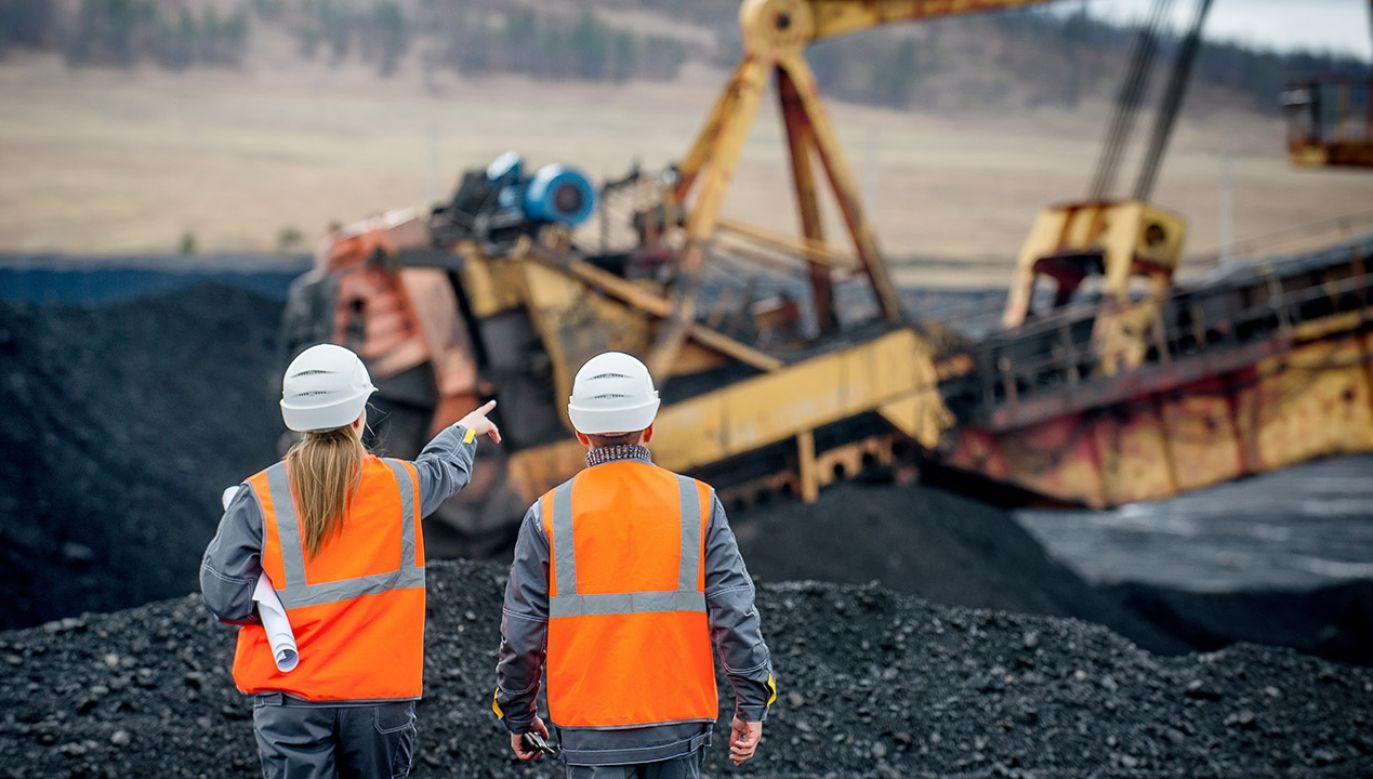 W 2019 r. polskie kopalnie wydobyły ponad 61,6 mln ton węgla kamiennego (fot. Shutterstock/Mark Agnor)