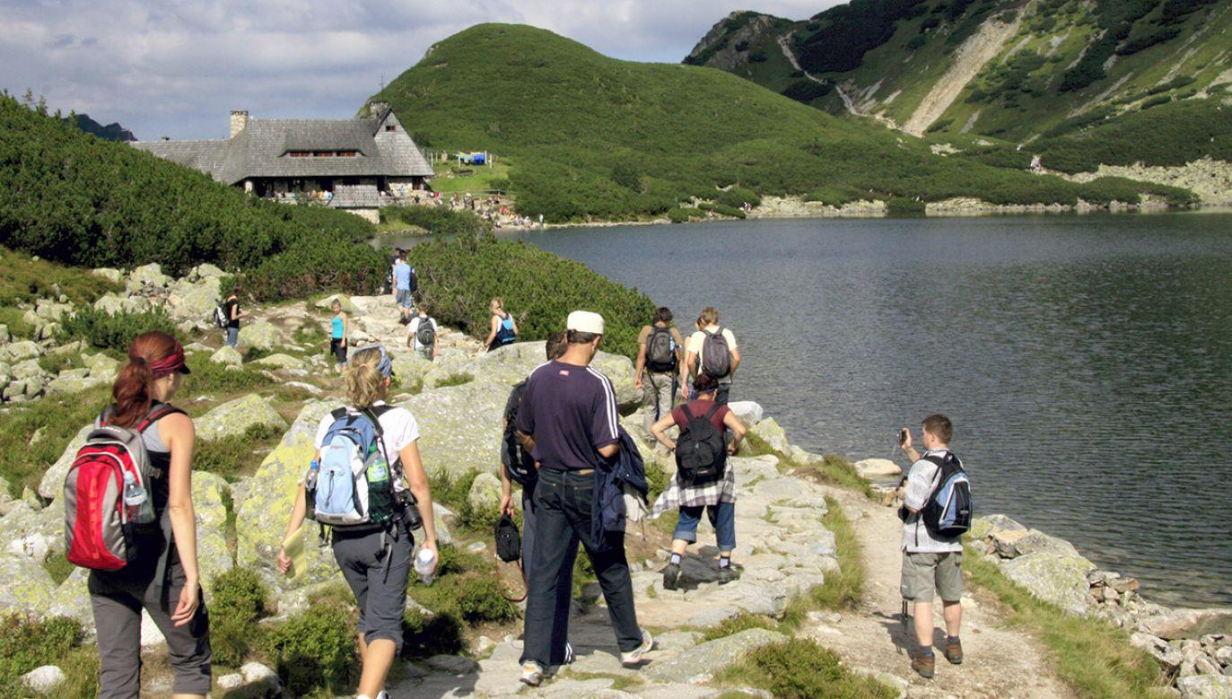 Niedostępna dla turystów jest także Dolina Strążyska (fot. arch.PAP/Lech Muszyński)