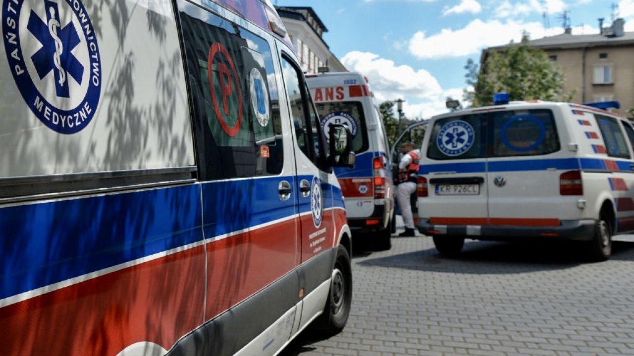 W szpitalach z powodu Covid-19 przebywa ponad 1,5 tys. chorych (fot. Artur Widak/NurPhoto via Getty Images)