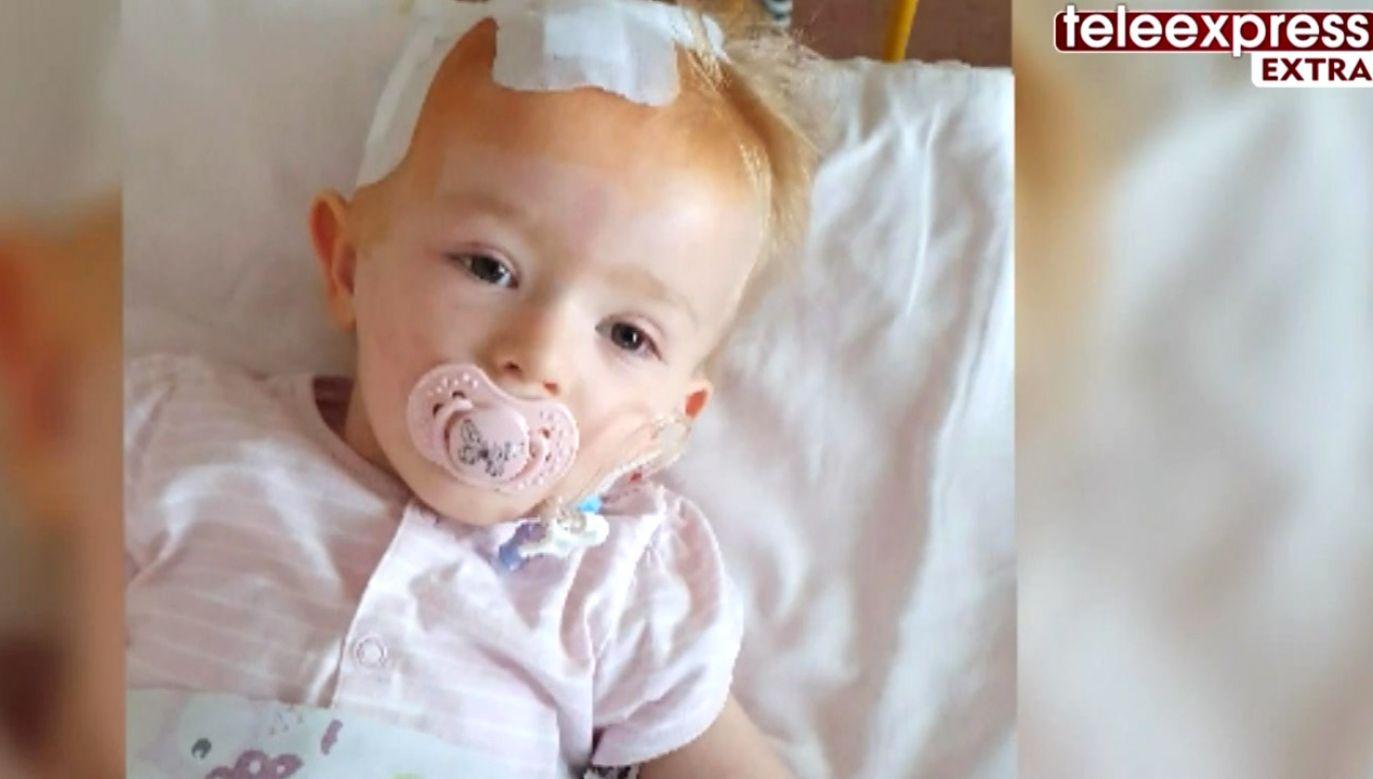 Hania Terlecka ma nowotwór złośliwy (fot. TVP)