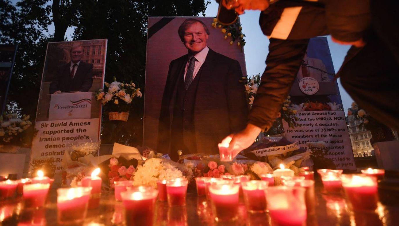 David Amess został zamordowany przez Brytyjczyka pochodzenia somalijskiego (fot. PAP/EPA/ANDY RAIN)