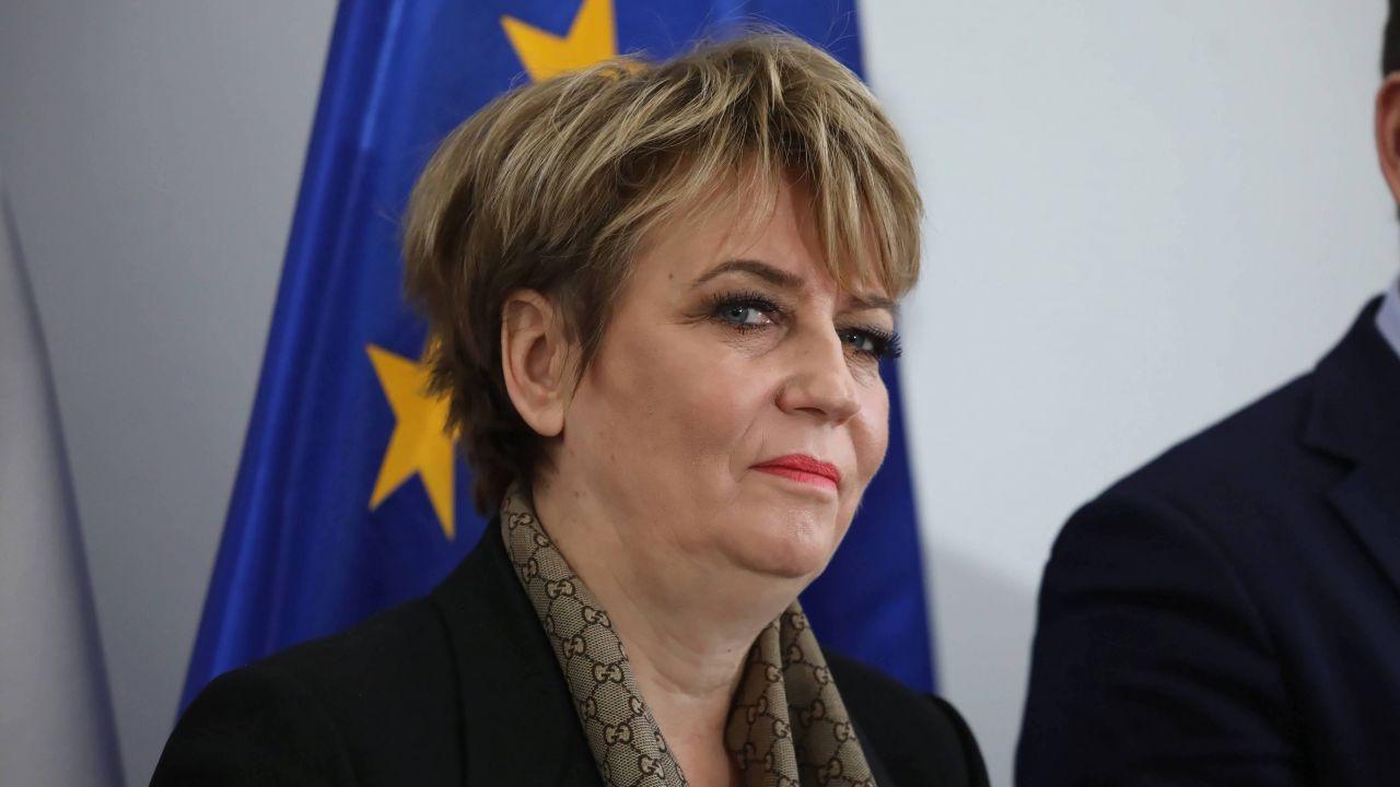 Prezydent Łodzi Hanna Zdanowska (fot. PAP/Tomasz Gzell)