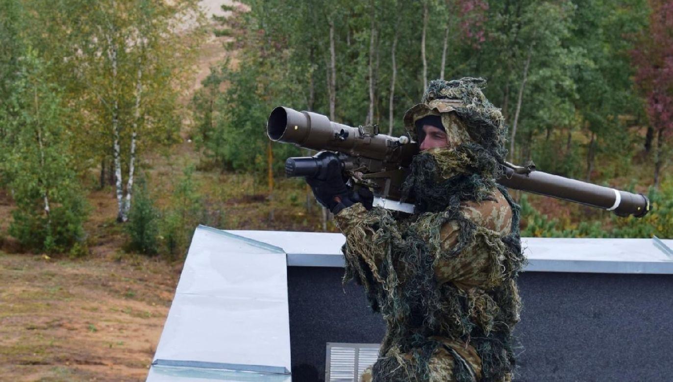 W ćwiczeniach bierze udział 15.Gołdapski Pułk Przeciwlotniczy (fot. TT/DGeneralneRSZ)