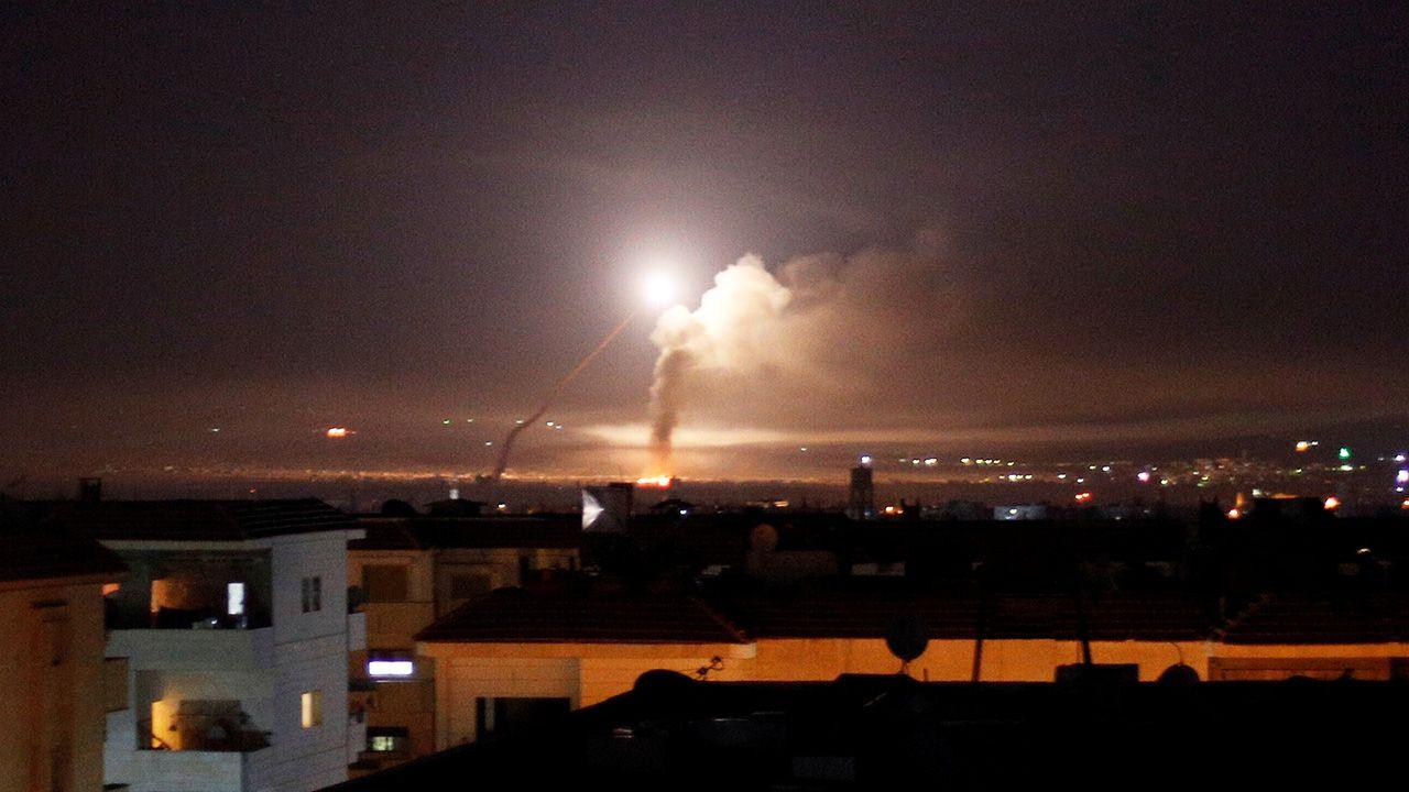 Izrael zaatakował irańskie cele w Syrii (fot. REUTERS/Omar Sanadiki)