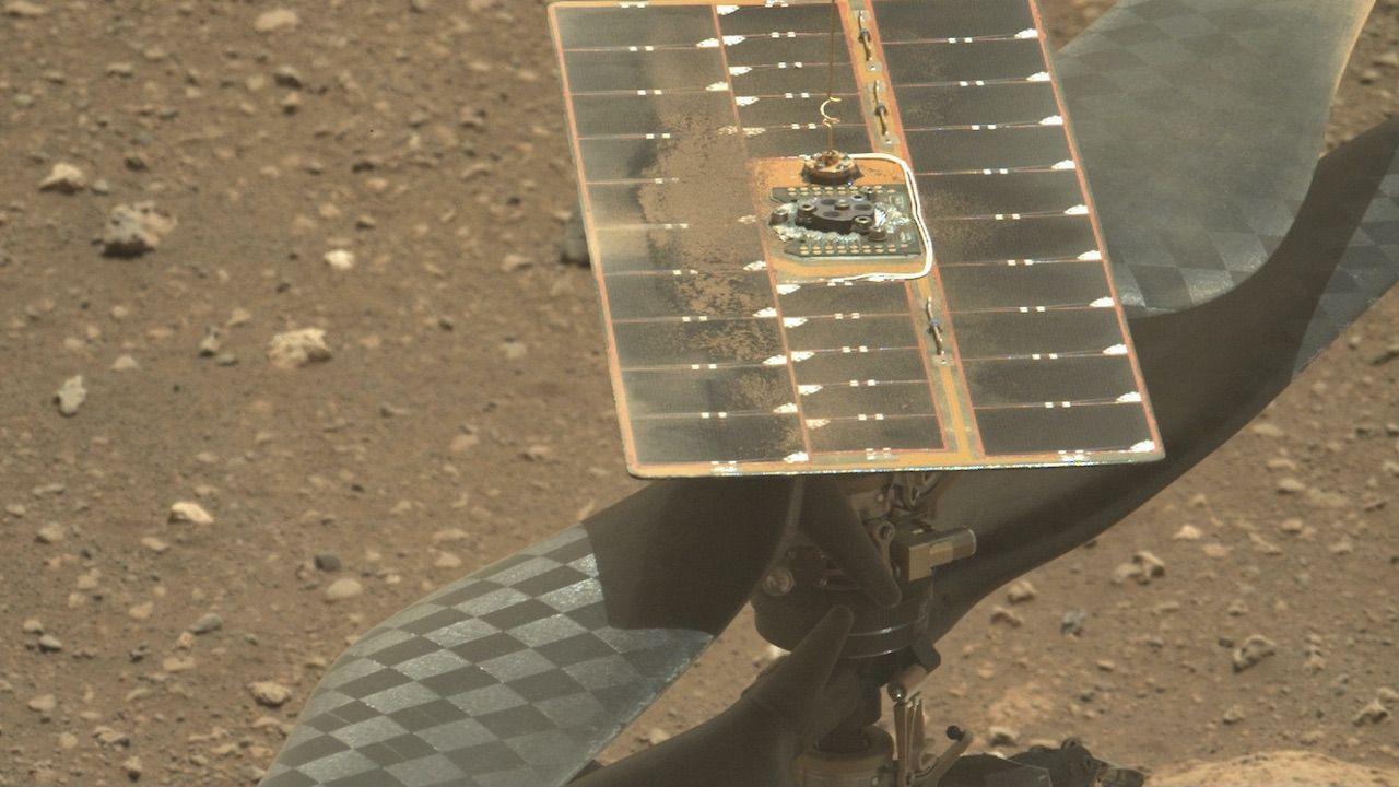 Ingenuity ma zbadać powierzchnię Marsa (fot. PAP/PA/NASA/JPL-Caltech)