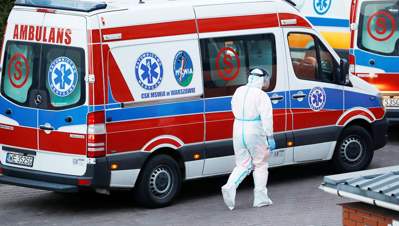 Raport o epidemii koronawirusa (fot. REUTERS/Kacper Pempel)