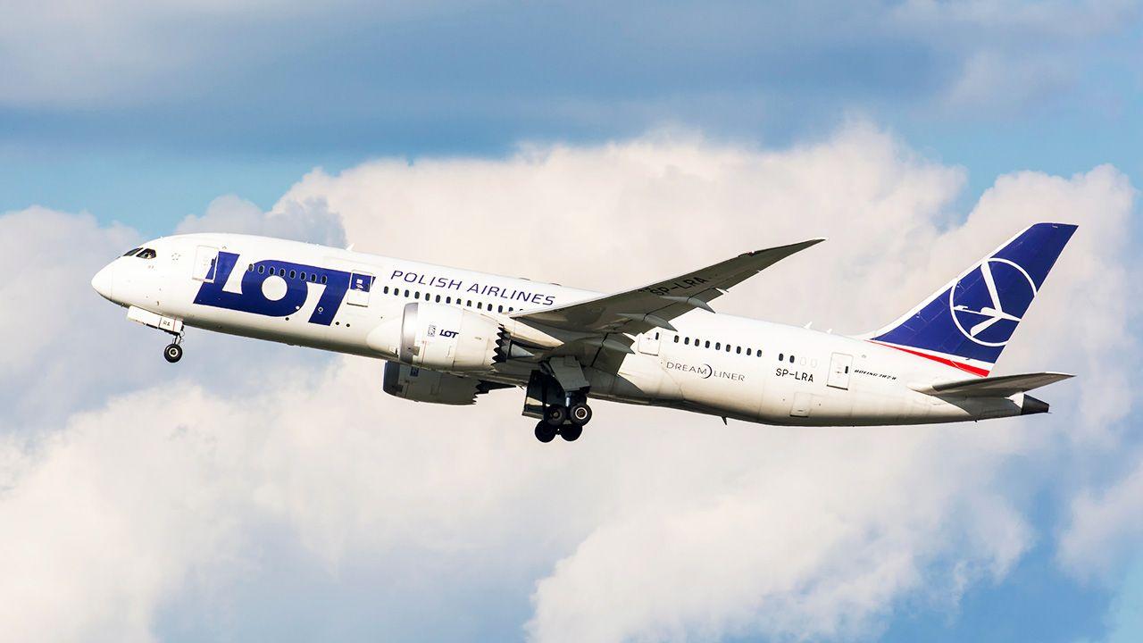 Loty do Waszyngtonu obsłużą samoloty Boeing 787 (fot. Shutterstock/Karol Ciesluk)