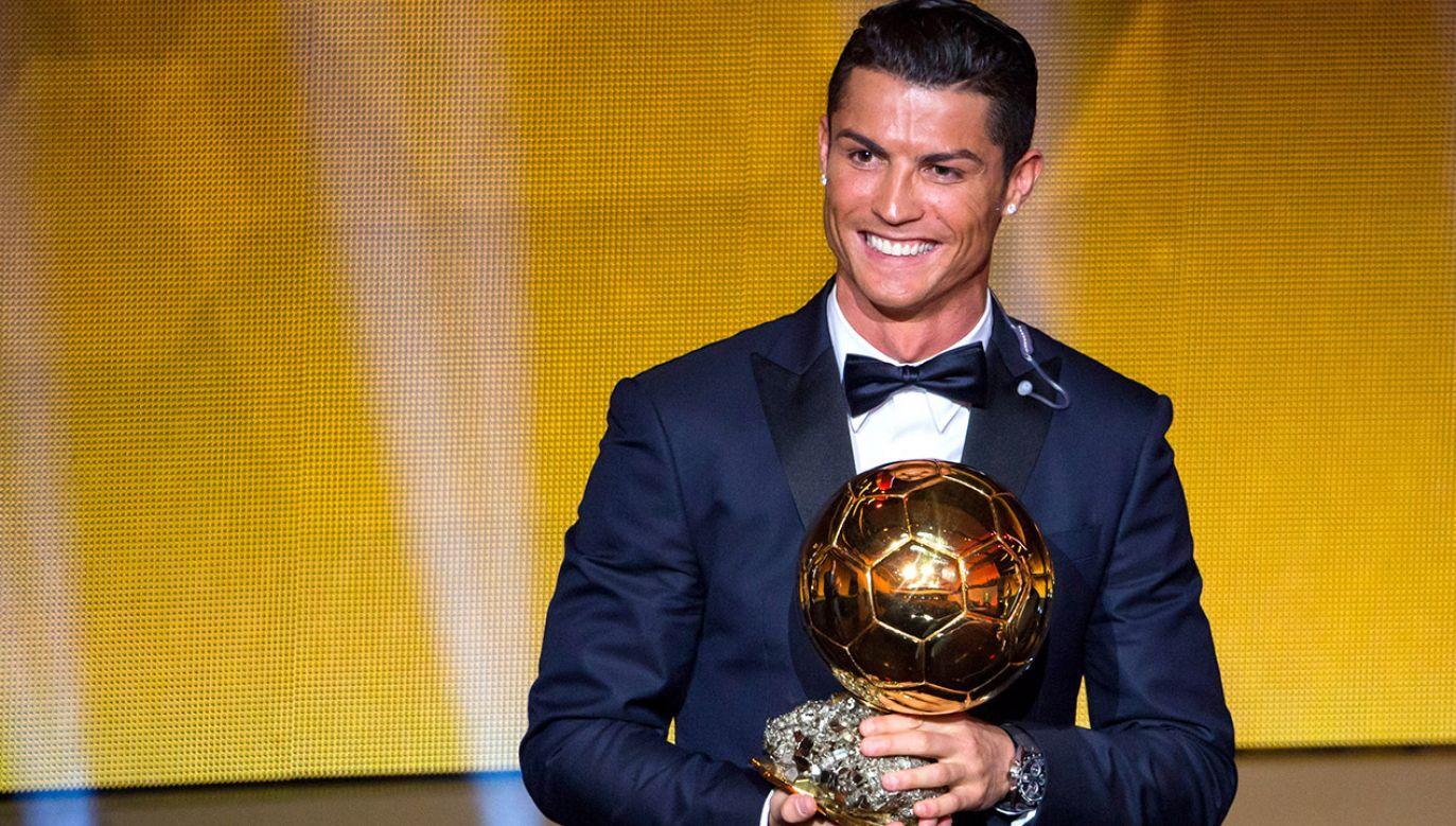 Cristiano Ronaldo to najbogatszy piłkarz na Instagramie. (fot. Philipp Schmidli/Getty Images)