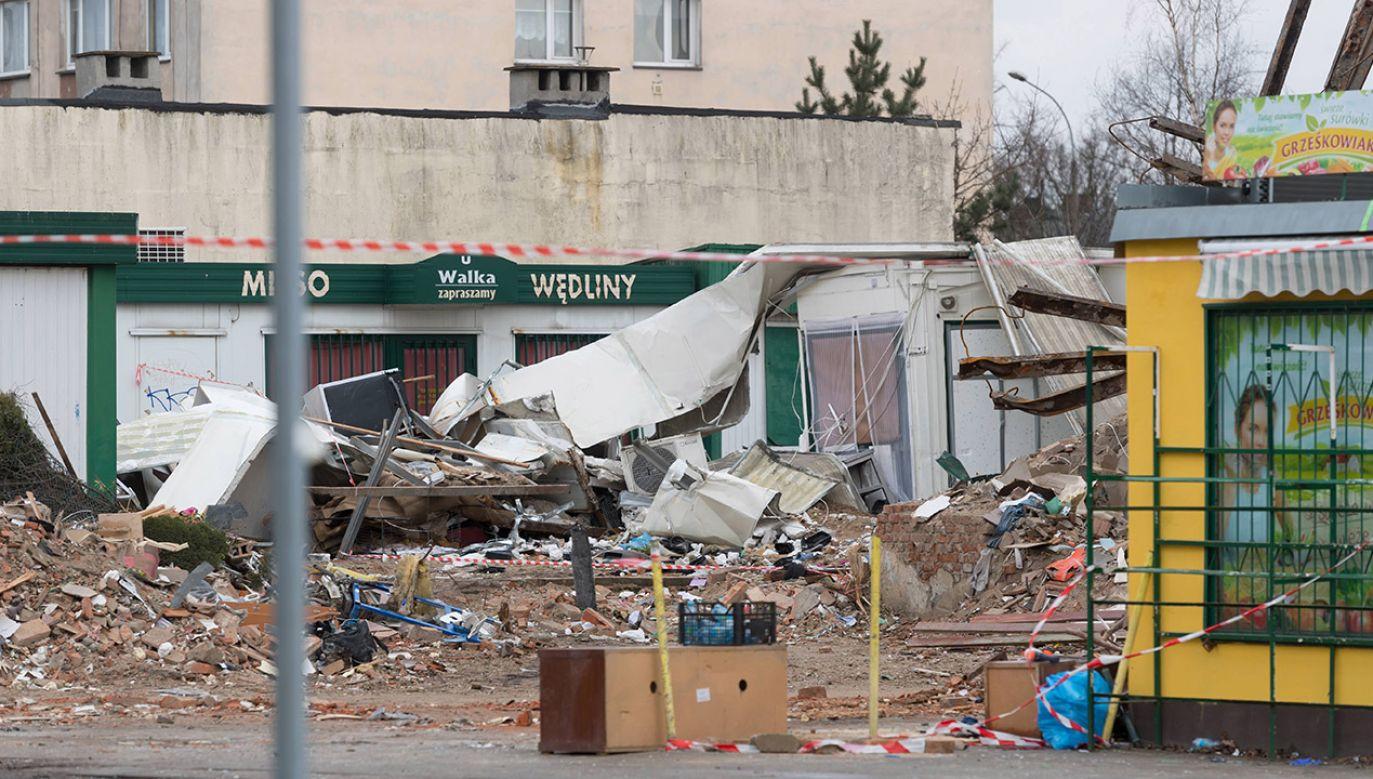 Poznań. W katastrofie rannych zostało ponad 20 mieszkańców (fot. arch.PAP/Jakub Kaczmarczyk)